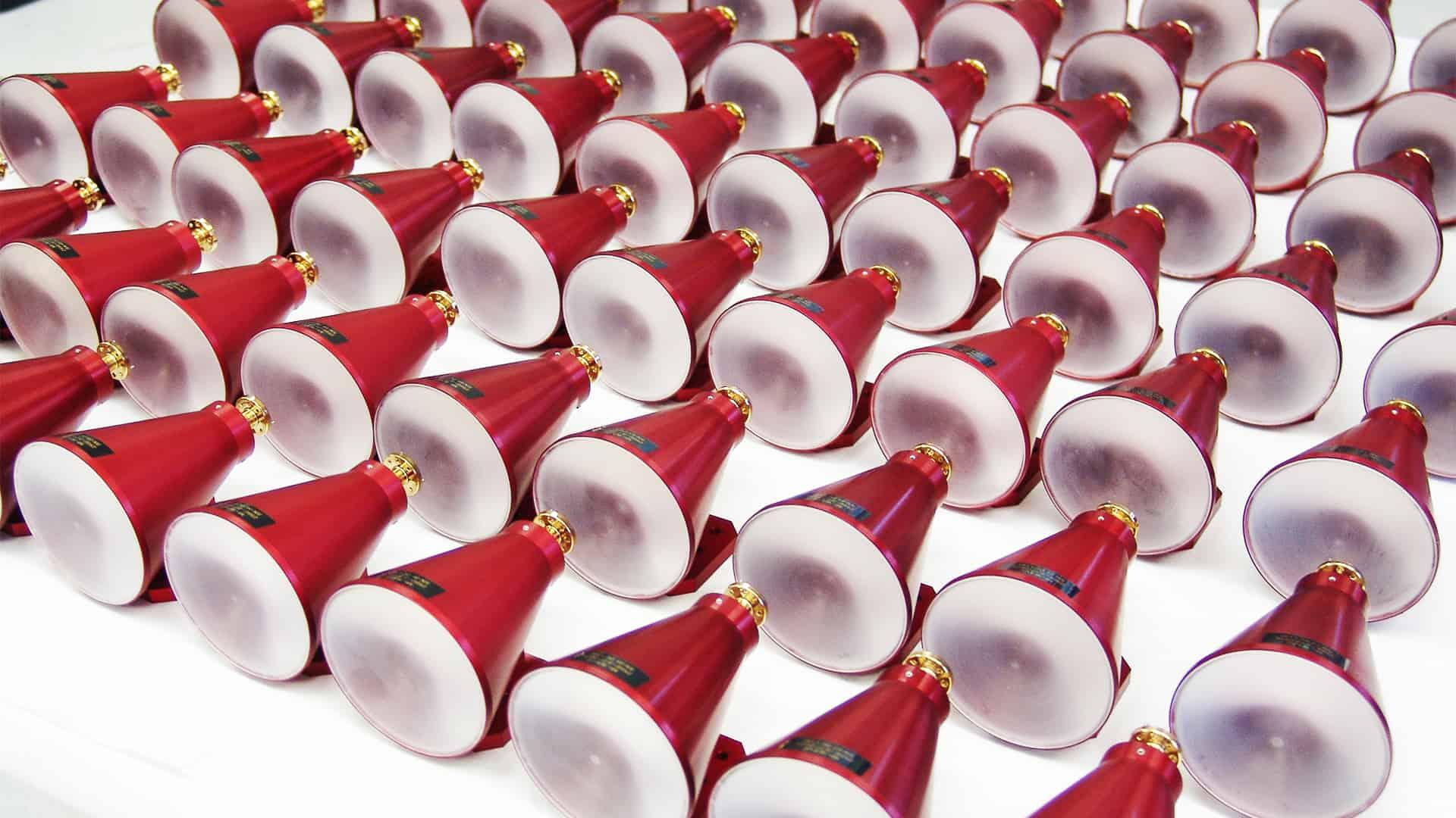 77GHz Horn Lens Antennas
