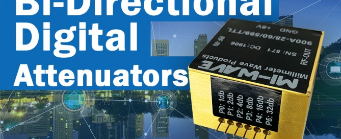 Bi-Directional digital attenuators