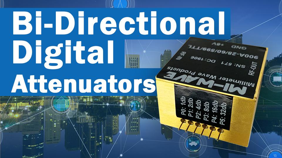 Bi-Directional digital attenuators