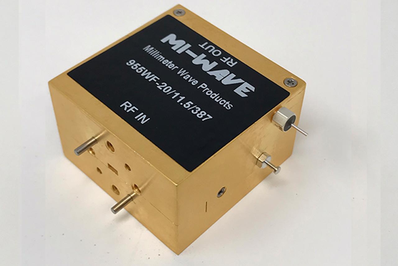 wr-10, low noise amplifier