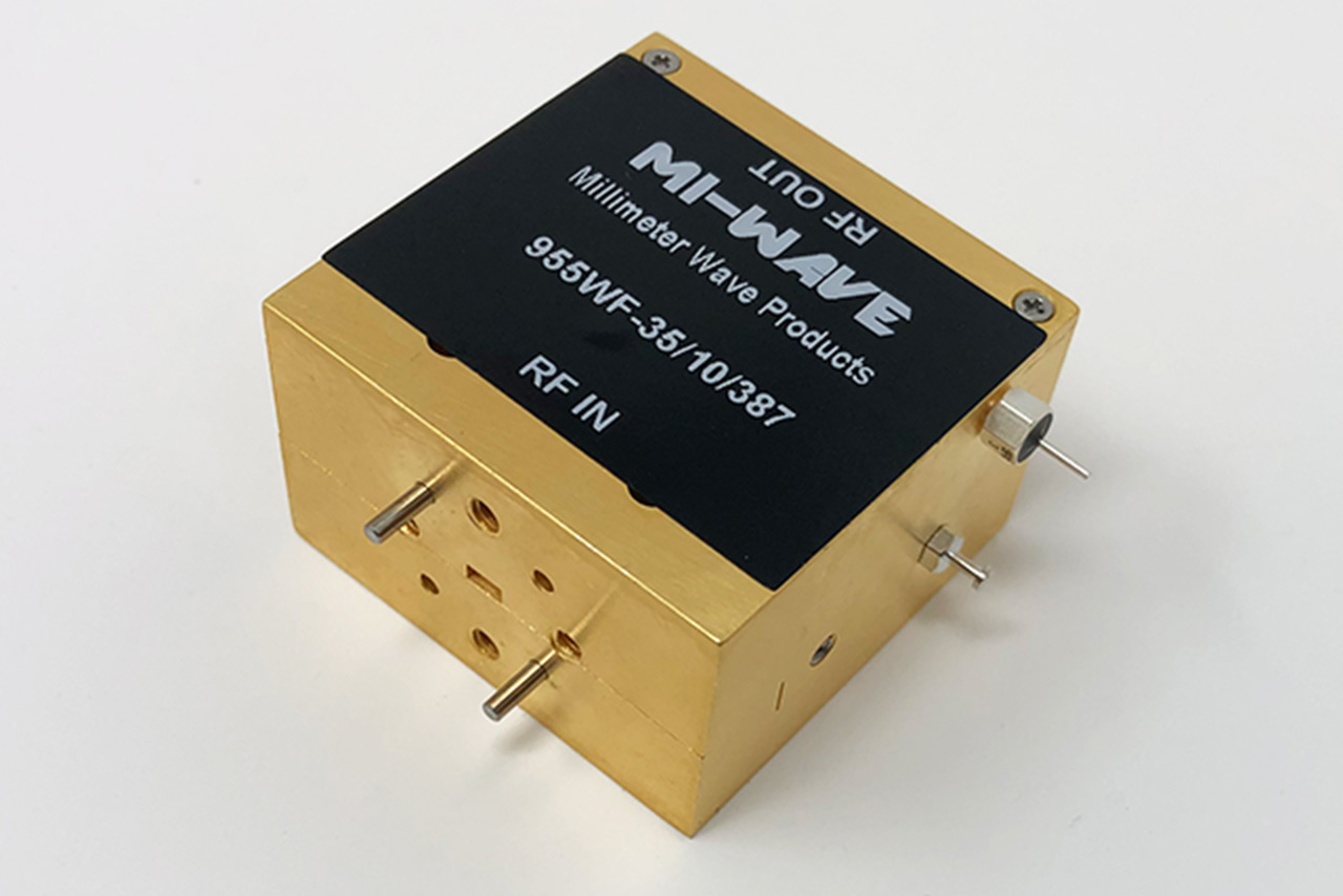 75GHz to 110GHz low noise amplifier