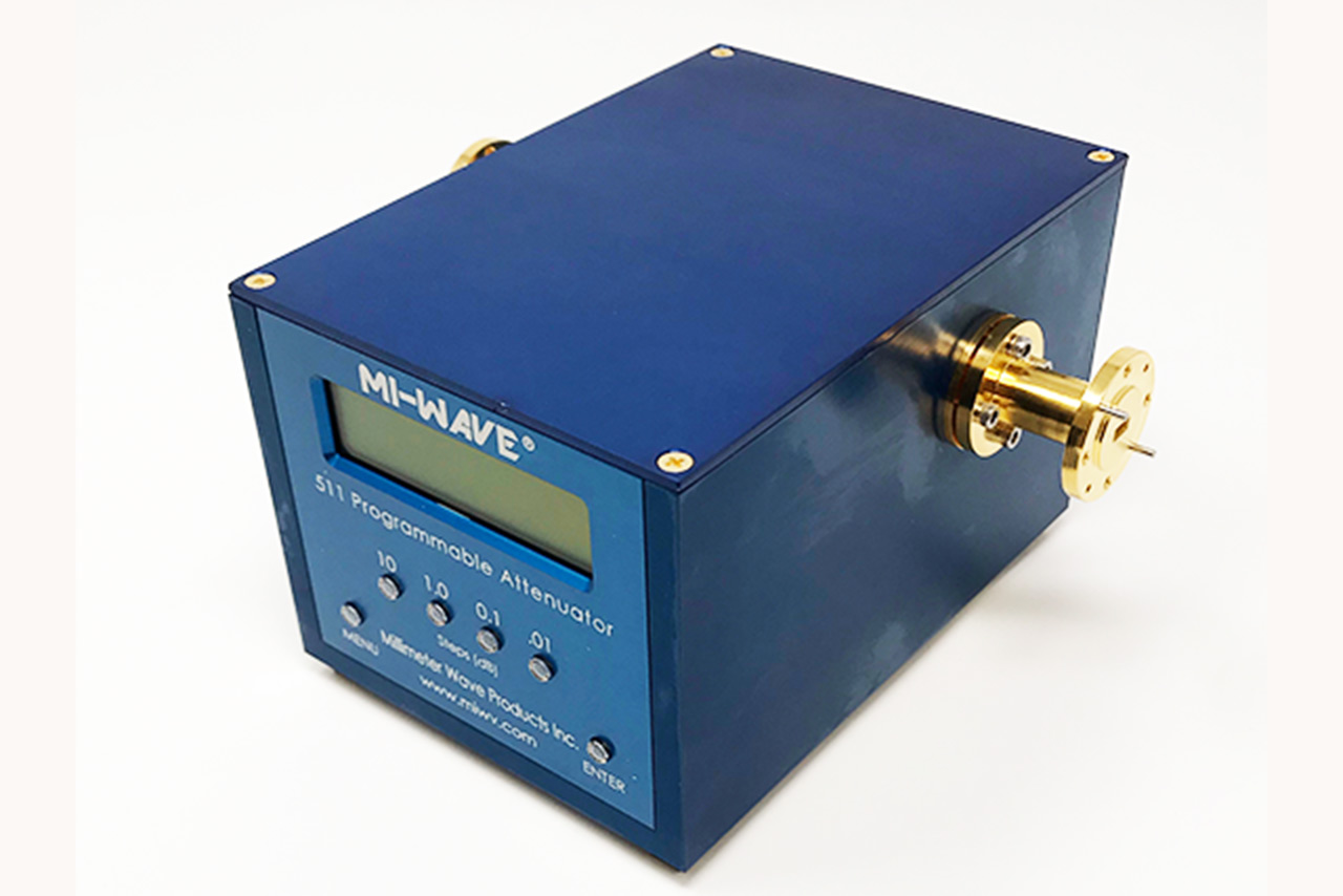 RF Programmable Rotary Vane Attenuator 7GHz to 220GHz